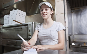 Earning the federal minimum wage of $7.25 an hour full-time works out to $15,000 a year, which is below the federal poverty level for a family of two.