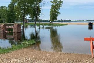 Ten percent of South Dakota's campsites were unavailable in 2019 because of conditions created after severe spring flooding. (Nate Wek/listen.sdpb.org)