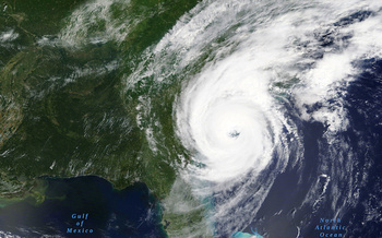 Hurricane Dorian lashed the Carolinas earlier this month. (Adobe Stock/NASA)