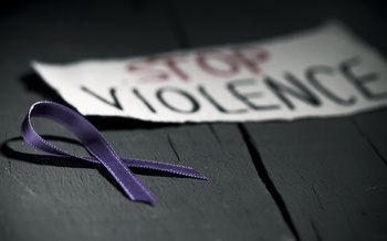 October is Domestic Violence Awareness Month. (nito/Adobe Stock)