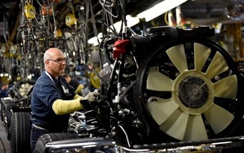 The USMCA deal would protects manufacturing jobs by offering companies incentives for engineering and production in the United States. (Ford Motor Co.)