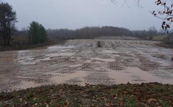 A potash mining project is slated for an area above a large marsh in Osceola County. <br />(Michigan Citizens for Water Conservation)
