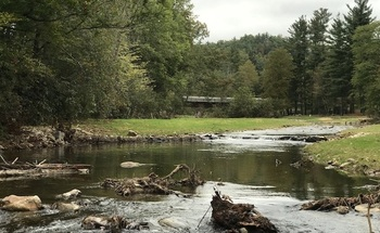 The Linville River in western North Carolina. (Greg Jennings/Jennings Environmental PLLC)