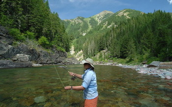Flathead National Forest is among the Montana sites that have received Land and Water Conservation Fund support over the past 50 years. (U.S. Forest Service/Flickr)