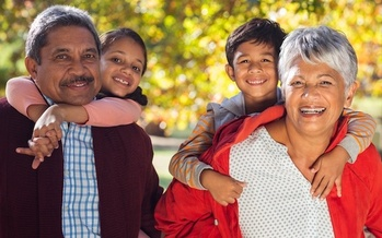 Around 10% of children in the United States live in homes where the householders are grandparents or other relatives, according to U.S. American Community Survey data. (Adobe Stock)