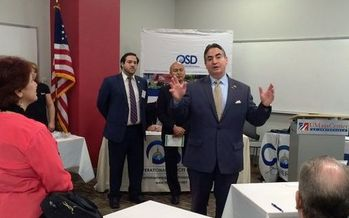 Springfield Mayor Domenic J. Sarno acknowledges that the rising cost of living is tough for older residents, and says he'll support a property-tax break for those who volunteer for the city.<br />(mass_osd/Flickr)