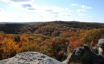 Illinois' Garden of the Gods in Shawnee National Forest is one of the few wild spots remaining in the state. (Forest Service Eastern Region/Flickr)