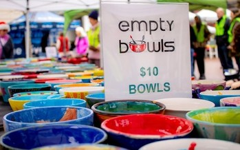 Empty Bowls event on November 23, 2018 in Boise, Idaho, which raised about $43,000. (The Idaho Foodbank)