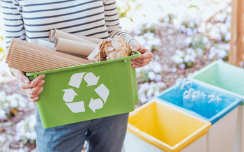 Americans throw away 25% more trash during the holiday season, which amounts to 25 million more tons of garbage that end up in landfills, according to research by Stanford University. (Adobe Stock)  <br />