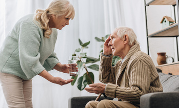 Symptoms of Alzheimer's often first appear after age 60, and the risk of developing the disease increases with age. (Adobe Stock)