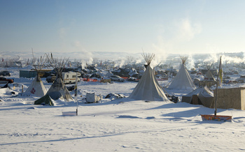 The battle over oil pipelines continues three years after the Standing Rock protests. (PhotoImage/Adobe Stock)