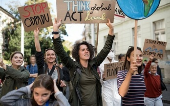 Thousands of students and others plan to participate in a Global Climate Strike this Friday, across Arizona and around the world. (Halfpoint/Adobe Stock)<br /><br />