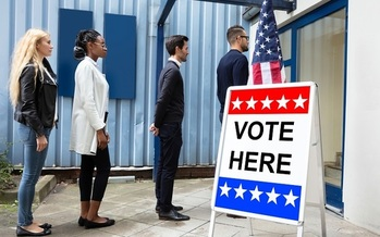 Arizona stands to get about $8.4 million of the $425 million Congress has allocated to shore up election security ahead of the 2020 presidential vote. (Popov/AdobeStock)<br /><br /><br />