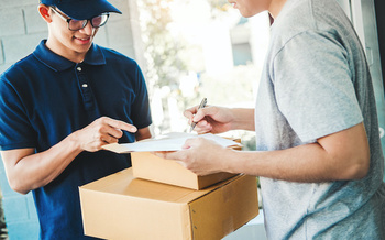 Requiring a signature for deliveries helps stop