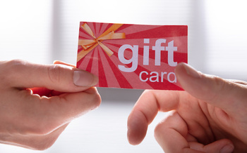 Twenty percent of survey respondents said they had given or received a gift card that had been depleted. (Andrey Popov/Adobe Stock)