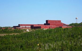 PolyMet Mining has said one of the advantages of its mine proposal is the use of existing infrastructure, including this former taconite processing site, but the company has yet to get the permits it needs. (PolyMet Mining)