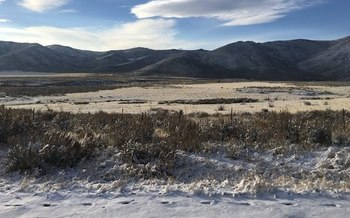 The Cenarussa Ranch easement provides more than three miles of access to public lands. (Tess O'Sullivan/TNC)