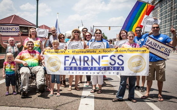 The civil rights group Fairness West Virginia is urging lawmakers to pass the Fairness Act for LGBTQ protections in the state. (Fairness West Virginia)