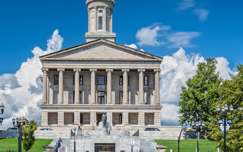 The Tennessee State Capitol in Nashville. Gov. Bill Lee's second State of the State address focused on education, teacher pay and job creation. (Adobe Stock)