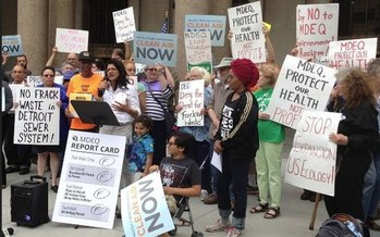 Opponents say increasing the capacity of a toxic-waste facility puts the health of 10,000 Detroit-area residents at even greater risk. (Coalition to Oppose Expansion of U.S. Ecology)<br />