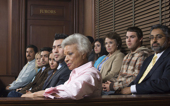 In the case Batson v. Kentucky, a 1986 U.S. Supreme Court decision made it illegal to exclude jurors on the basis of race. (Adobe Stock)<br />