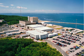 The Pilgrim Nuclear Power Plant, the last one operating in Massachusetts, closed in 2019. (WBUR/Creative Commons)