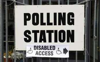 Some elections officials choose to close polling places rather than bring them into compliance with the Americans with Disabilities Act. (lazyllama/Adobe Stock)