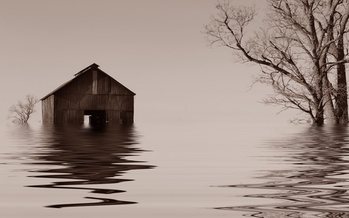 The Iowa Flood Center says until landscape management plans become better established, the state will continue to see significant floods in the years to come. (Adobe Stock)