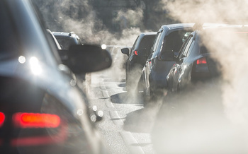 Car emissions contribute to bad air days, especially during summer months. (elcovalana/Adobe Stock)