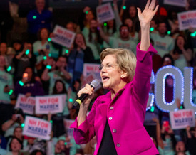 According to FiveThirtyEight.com, Sen. Elizabeth Warren, D-Mass., isn't projected to win any state's primary on Super Tuesday, including the Bay State. (ElizabethWarren.com)