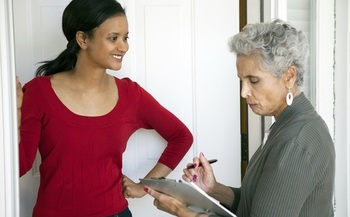 Families are asked to respond to the 2020 census by April 1, but if officials don't receive a response, a census taker will come to you door to collect information. (edbovkstock/AdobeStock)