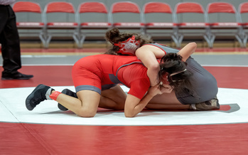 High school athletic officials say if girls' wrestling becomes a sanctioned sport, it would be divided into four weight classes at state wrestling championships. (Adobe Stock)