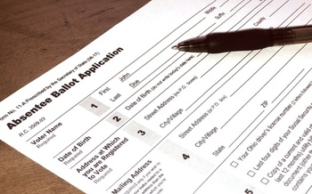 Ohioans can vote by absentee ballot for the upcoming primary through next Monday. (M. Kuhlman)