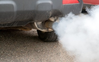 Vehicle emissions exacerbate breathing problems, including asthma. (Adobe Stock)