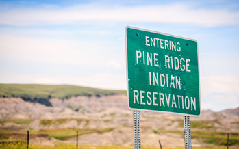 While the Oglala Sioux tribe tries to educate its communities about hand-washing during the pandemic, many members don't have consistent access to running water to protect themselves. (Adobe Stock)