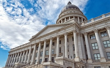 When the Utah Legislature meets this week, the State Capitol will be mostly empty, as lawmakers in the House and Senate participate in the special session remotely, online. (Oksana/Adobe Stock)