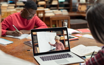 A new Public Library Association survey shows 76% of libraries have extended their online renewal policies during the pandemic. (Adobe Stock)