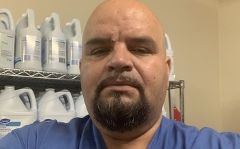 Jose Avalos, who works at Kaiser Permanente in Clackamas, Ore., won't receive $2,700 in stimulus money because of his wife's immigration status. (Jose Avalos)
