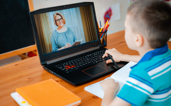 One priority parents mentioned in the education poll is the need to close the digital divide, to ensure students have access to computers and the internet. (shangarey/Adobe Stock)