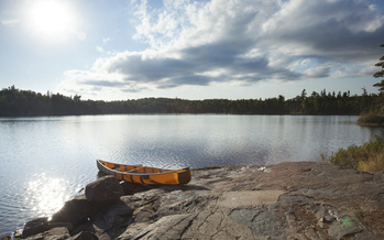 Organizers with a coalition to protect the Boundary Waters from aquatic invasive species say they fear AIS will continue to spread north toward this group of lakes and tributaries. (Adobe Stock)