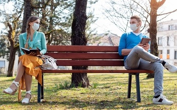 State Epidemiologist Dr. Angela Dunn says state officials are taking a slow approach to easing restrictions such as social distancing and face masks to fight the COVID-19 pandemic. (Kzewnon/Adobe Stock)
