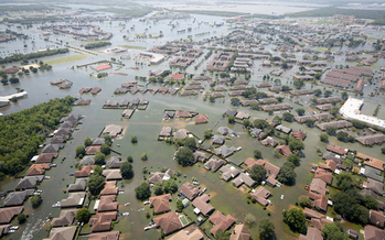 Hurricane Harvey, a devastating Category 4 hurricane, made landfall on Texas and Louisiana in August 2017, causing catastrophic flooding and many deaths. (wikipedia)