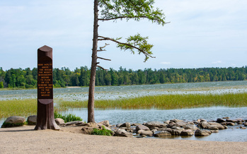 The original Civilian Conservation Corps helped with projects such as the one at the Mississippi River headwaters in Minnesota. Supporters say reviving the CCC could put many unemployed people back to work. (Adobe Stock)