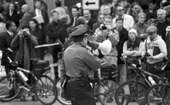 Norm Stamper was Seattle police chief during the 1999 crackdown on WTO protesters. He calls it a painful learning experience. (Seattle Municipal Archives/Flickr)
