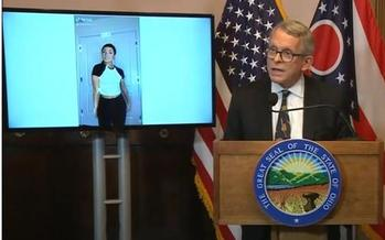 Ohio Gov. Mike DeWine is using TikTok to spread public-health messages among youths. <br />(ohiochannel.org)