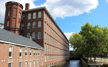Boott Cotton Mills is part of Lowell National Historical Park, which has a maintenance backlog of more than $20 million. (National Park Service)