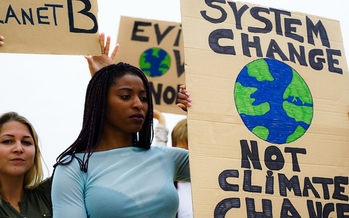 Activists say those least responsible for causing climate change often are the first and most severely affected by it. (Manpeppe/Adobe Stock)