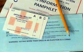 Secretary of State Denise Merrill announced she will send absentee-ballot applications to all registered voters. (Flickr_1)