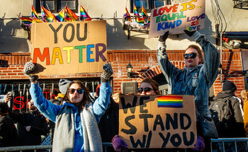Some advocates contend LGBTQ equality cannot be achieved without fully embracing anti-racism.  <br />(MathiasWasik/Flickr)