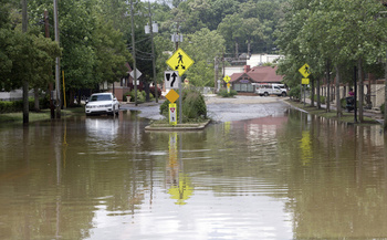 North Carolina communities will continue to grapple with increased flooding in a changing climate. (Adobe Stock)<br />